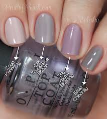 opi taupe less beach comparison peachy polish nail polish