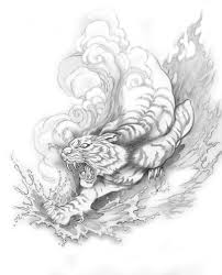 japanese tiger designs designs by joseph gilland