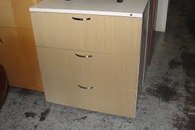 3 drawer lateral file cabinet used 3 drawer maple lateral file cabinet 8438 new and used office