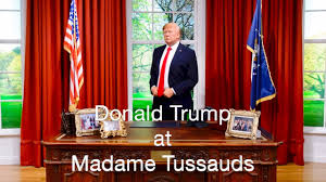 Trump Gold Curtains by Donald Trump At Madame Tussauds Youtube