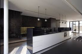 smart black white interior design for modern room and excerpt home