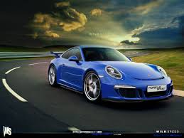 Porsche 911 Blue - porsche 911 gt3 blue wallpaper 1280x960 21703