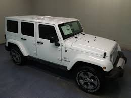 jeep rubicon white 2017 2017 jeep wrangler unlimited sahara 4x4 suv for sale in bismarck nd