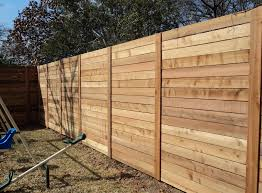 wooden fence installation dallas fort worth dfw fence install