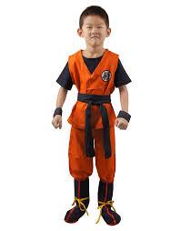 amazon com miccostumes boy u0027s dragon ball son goku cosplay costume