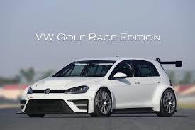 white volkswagen golf new volkswagen golf racer announced the cw blog