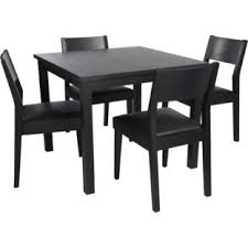 argos kitchen furniture buy hygena black square dining table and 4 chairs at argos co uk