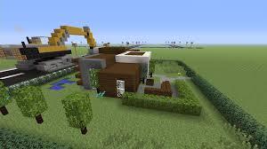 build a simple modern house u2013 minecraft house design