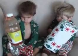 jimmy kimmel youtube challenge children given terrible christmas