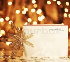 beautiful gold happy card winter background