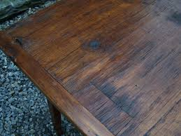 Country Kitchen Tables by 7784 Handmade New England Pine Country Kitchen Table For Sale