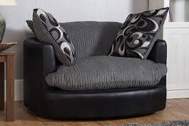 Swivel Cuddle Chair by Swivel Cuddle Chair Grey
