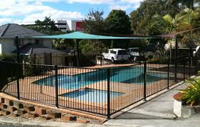 Types Of Backyard Fencing Pergola Aquaview Pool Fencing Safety Features Beautiful Safety
