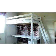 bureau echelle lit mezzanine bois blanc bureau mezzanine ikea lit mezzanine bois
