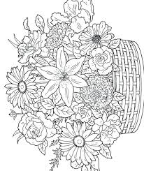 free printable flower coloring pages u2013 corresponsables co