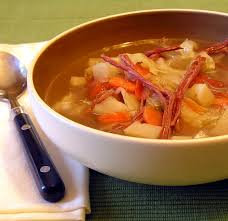 healthy leftover corned beef cabbage and potato soup