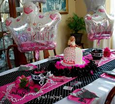 barbie birthday party room decoration games archives decorating