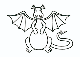 fire breathing dragon coloring pages flying dragon coloring pages clipart panda free clipart images