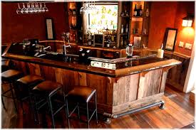 modern style ultimate man cave bar ultimate custom design built