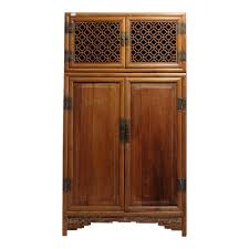kitchen armoire cabinets antique large kitchen cabinet armoire with fretwork top from 19th
