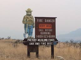 Wildfire News Eastern Washington by Fire Danger High All Outdoor Burning Banned In Eastern Washington