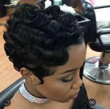 soft waves for short black hair finger waves on short african american hair google search hair