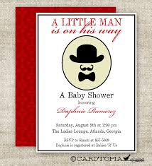 mustache and bow tie baby shower invitations plumegiant com
