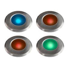 paradise low voltage led stainless steel multi color integrated