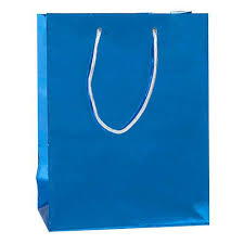metallic gift bags royal blue metallic gift bag shindigz