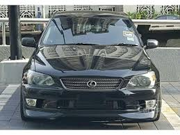 altezza car black toyota altezza 2000 r s 200 2 0 in kuala lumpur manual sedan black