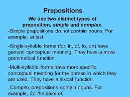 prepositions and particles ppt video online download