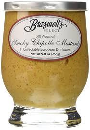 gourmet mustard braswells select smokey chipotle mustard mustard