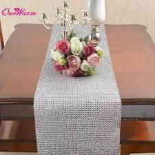 online get cheap diamond mesh table runners aliexpress com