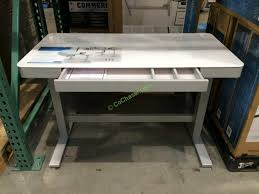 costco folding table adjustable height awesome chic costco desks for home office furniture with tresanti