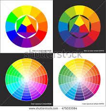 Color Spectrum Vector Color Spectrum Ittens Twelve Colors Stock Vector 573403573