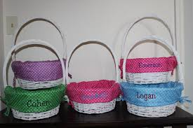 personalized wicker easter baskets 17 adorable handmade easter basket designs style motivation