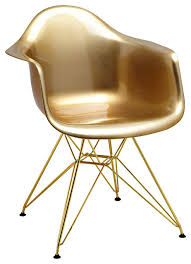 Gold Accent Chair Mid Century Gold Arm Chairs With Gold Wire Base Set Of 5