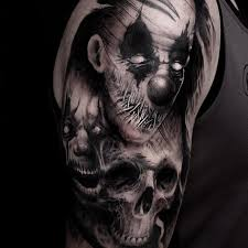 image result for evil clown tattoos jester tattoo pinterest