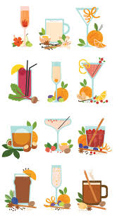 holiday cocktails clipart holiday drinks clipart clip art library