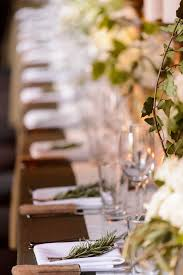 Flower Table L L Atelier Flowers New York Ny Weddingwire