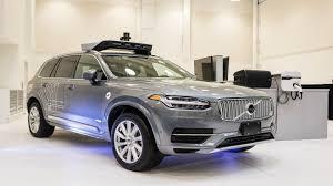 volvo north carolina headquarters self driving uber involved in crash in arizona the drive