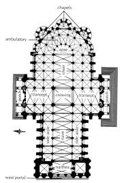 Catholic Church Floor Plans by Plan Chartres Cathedral Fig 16 10 Pg 502 Located In Chartres