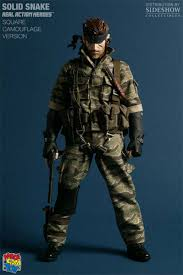 Solid Snake Halloween Costume Cosplay Guides Metal Gear Solid 3 Snake Eater Snake Big