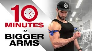 how to add 1 to your arms in 10 minutes best mass arm workout