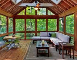 Sunrooms Ideas Outdoor Living Contemporary Sunroom Idea With Modern Design