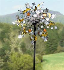 celestial confetti wind spinner decorative garden accents