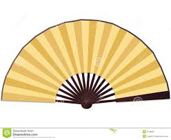 paper fan traditional paper fan stock image image 6748991