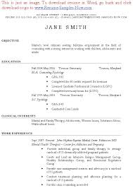Sample Counseling Resume by Massage Therapist Resume Sample Sample Resumes