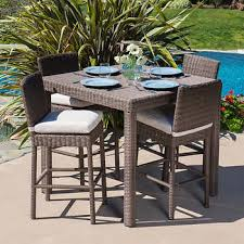 Outdoor Patio High Chairs by Dining Sets Costco