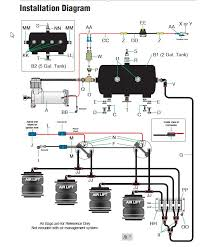 universal air suspension switches diagram free wiring
